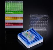 Hộp trữ lạnh, nhựa Polycarbonate, chịu nhiệt -196ºC to 121ºC, lưu trữ trong tủ âm sâu or trong nitơ lỏng
